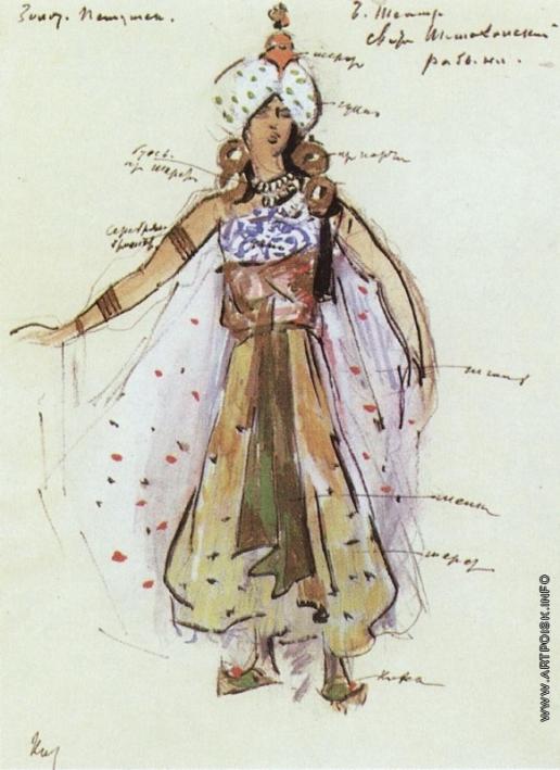 Коровин К. А. Рабыня из свиты Шемаханской царицы