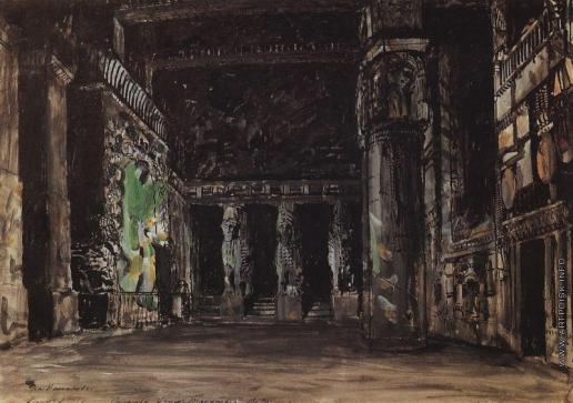 Коровин К. А. Храм Танит