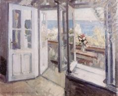 Коровин К. А. Балкон в Крыму