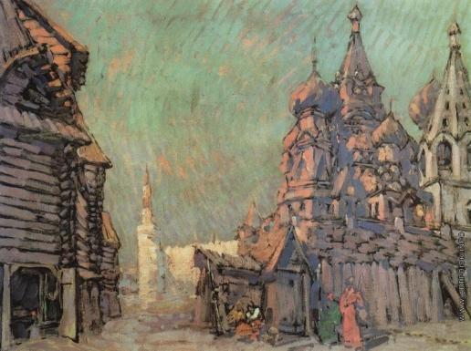 Коровин К. А. Красная площадь в Москве