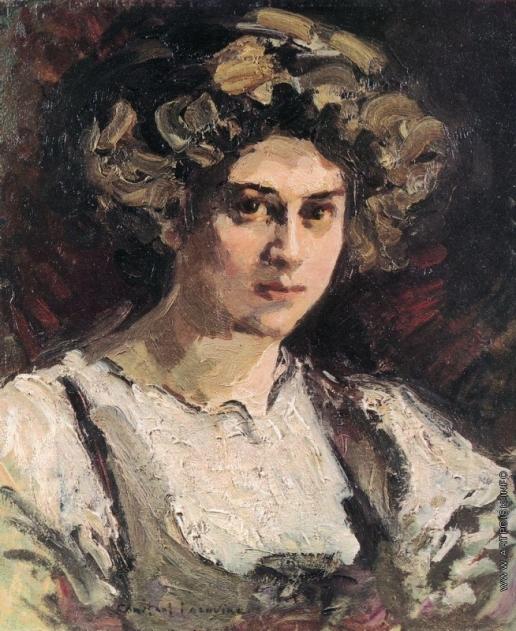 Коровин К. А. Портрет Надежды Ивановны Комаровской