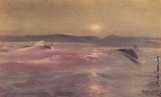 Коровин К. А. Ледовитый океан. Мурманск
