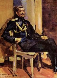 Коровин К. А. Портрет офицера