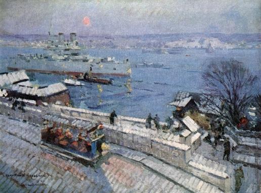 Коровин К. А. Севастополь зимой