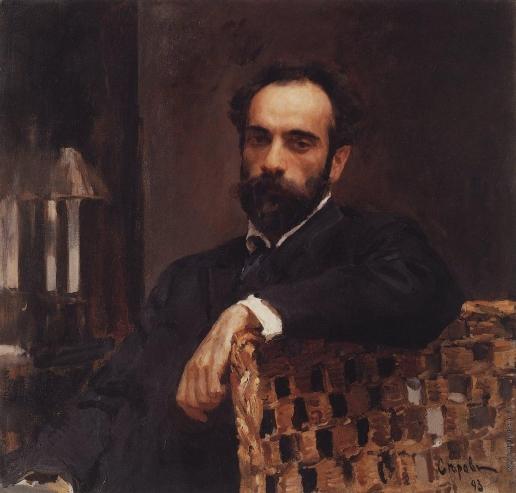 Серов В. А. Портрет художника Исаака Левитана