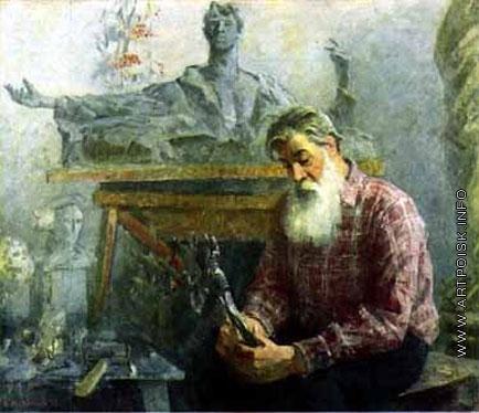 Максимов К. М. Портрет А.П. Кибальникова