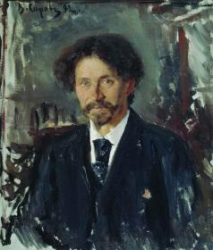 Серов В. А. Портрет художника Ильи Репина