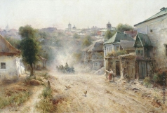 Беркос М. А. Улица в Умани