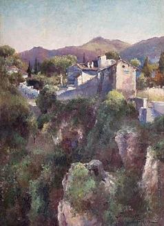 Беркос М. А. Итальянский пейзаж