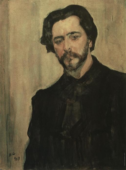 Серов В. А. Портрет писателя Леонида Андреева