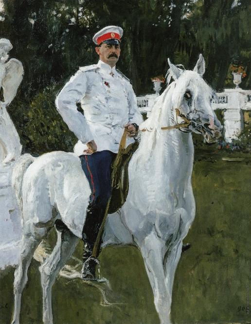 Серов В. А. Портрет князя Ф.Ф. Юсупова, графа Сумарокова-Эльстона