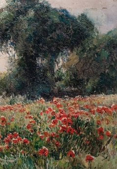 Беркос М. А. Маки цветут (фрагмент)