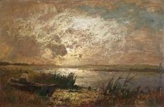 Беркос М. А. На озере
