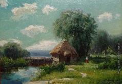 Беркос М. А. Домик у реки