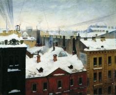Светославский С. И. Вид города