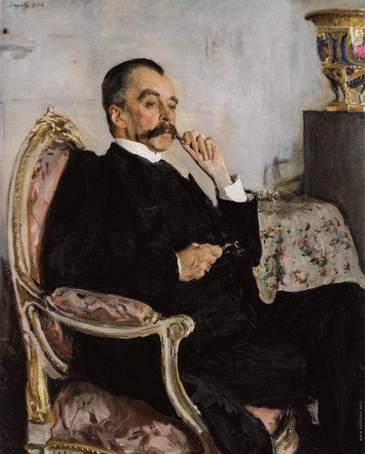 Серов В. А. Портрет князя В.М. Голицына