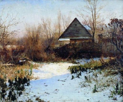 Светославский С. И. Последний снег