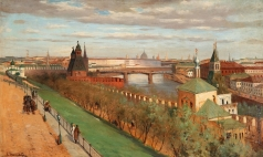 Светославский С. И. Вид с Кремля на Замоскворечье