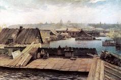 Светославский С. И. Разлив Днепра на Оболони
