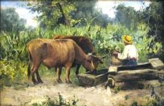 Светославский С. И. Сельская сценка