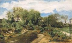 Светославский С. И. Пейзаж с рекой