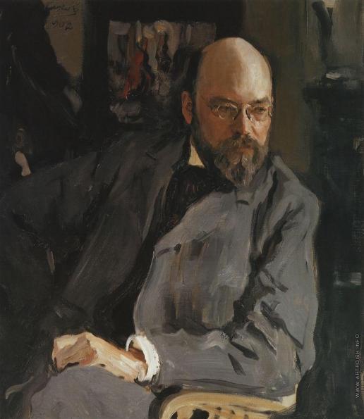 Серов В. А. Портрет художника И.С.Остроухова