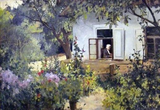 Светославский С. И. У окна