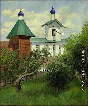 Светославский С. И. Монастырский сад