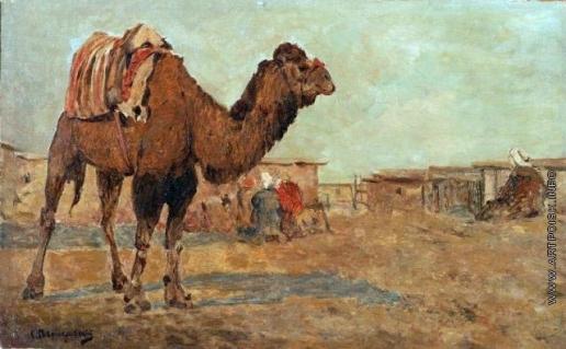 Светославский С. И. Пейзаж с верблюдом