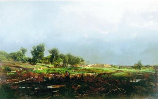 Орловский В. Д. Буря в поле
