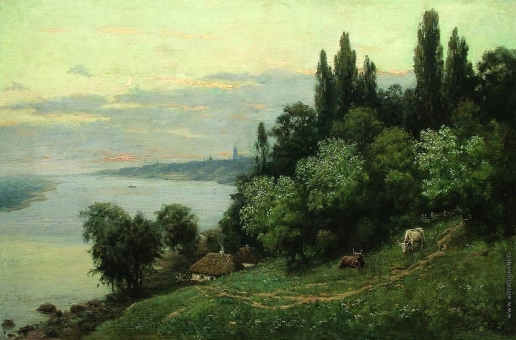 Орловский В. Д. Закат над рекой