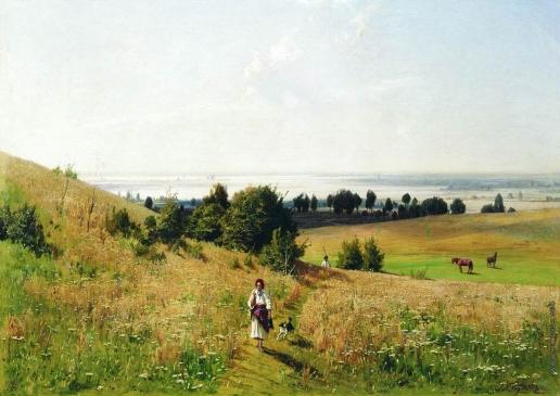 Орловский В. Д. Малороссийский пейзаж