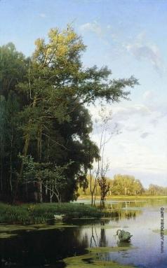 Орловский В. Д. Озеро в Гатчинском парке