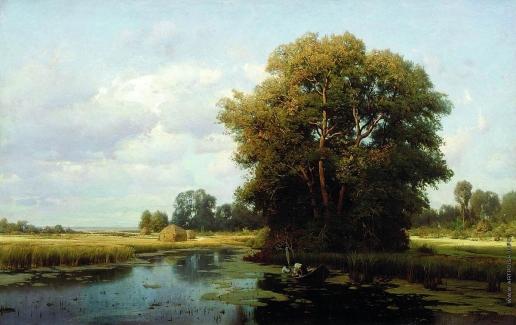 Орловский В. Д. Пейзаж с болотом
