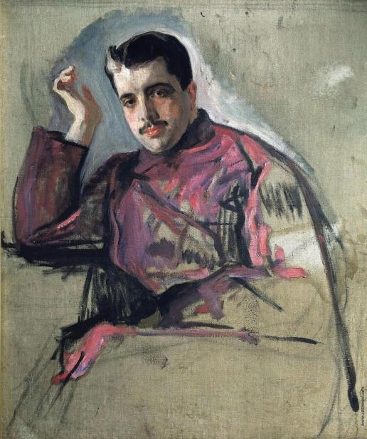 Серов В. А. Портрет Сергея Дягилева