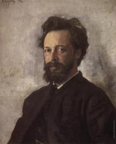 Серов В. А. Портрет С.П. Чоколова