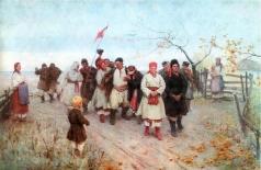 Пимоненко Н. К. Веселье в киевской губернии
