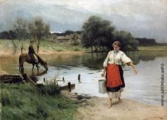 Пимоненко Н. К. По воду