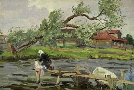 Хайкин Д. С. На реке