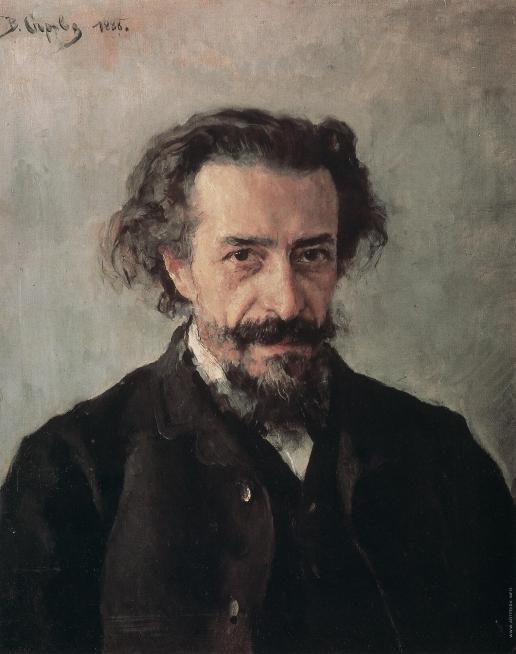 Серов В. А. Портрет композитора П.И. Бларамберга
