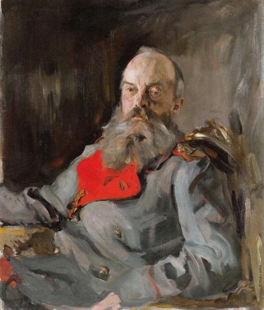 Серов В. А. Портрет великого князя Михаила Николаевича в тужурке