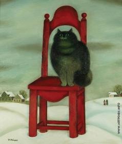 Хайкин Д. С. Кот на стуле
