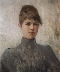 Серов В. А. Портрет актрисы М.Я. Ван-Зандт, в замужестве Чериновой