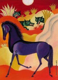 Хайкин Д. С. Иллюстрация к детской книге