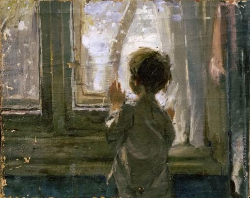 Тутунов С. А. Вариант картины «Зима пришла. Детство»