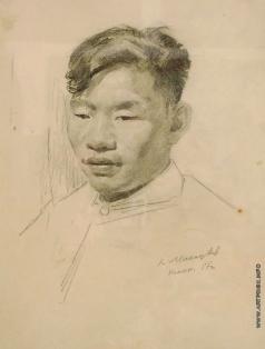 Максимов К. М. Китайский юноша