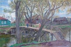Тутунов А. А. Мост через реку Трубеж