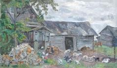 Тутунов А. А. Крестьянский двор