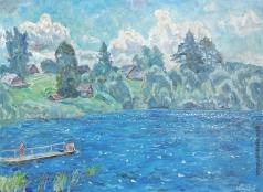 Тутунов А. А. Синее озеро
