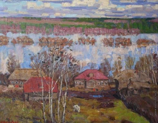 Тутунов А. А. Разлив на Оке